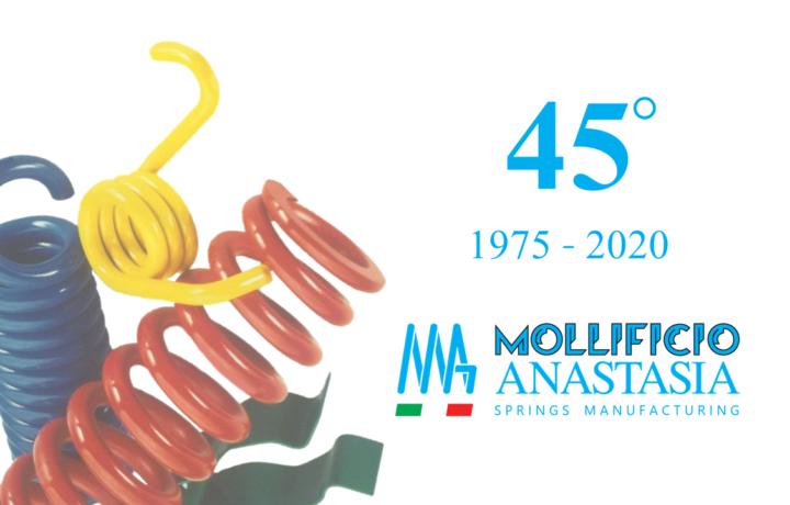 45 anni Mollificio Anastasia